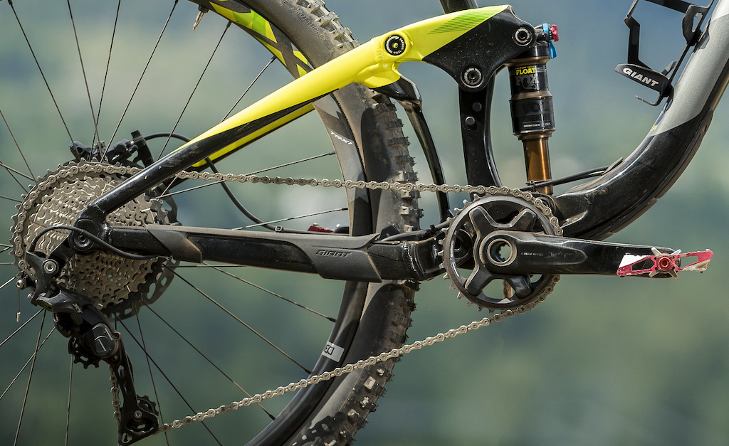 Giant Trance Advanced suspension