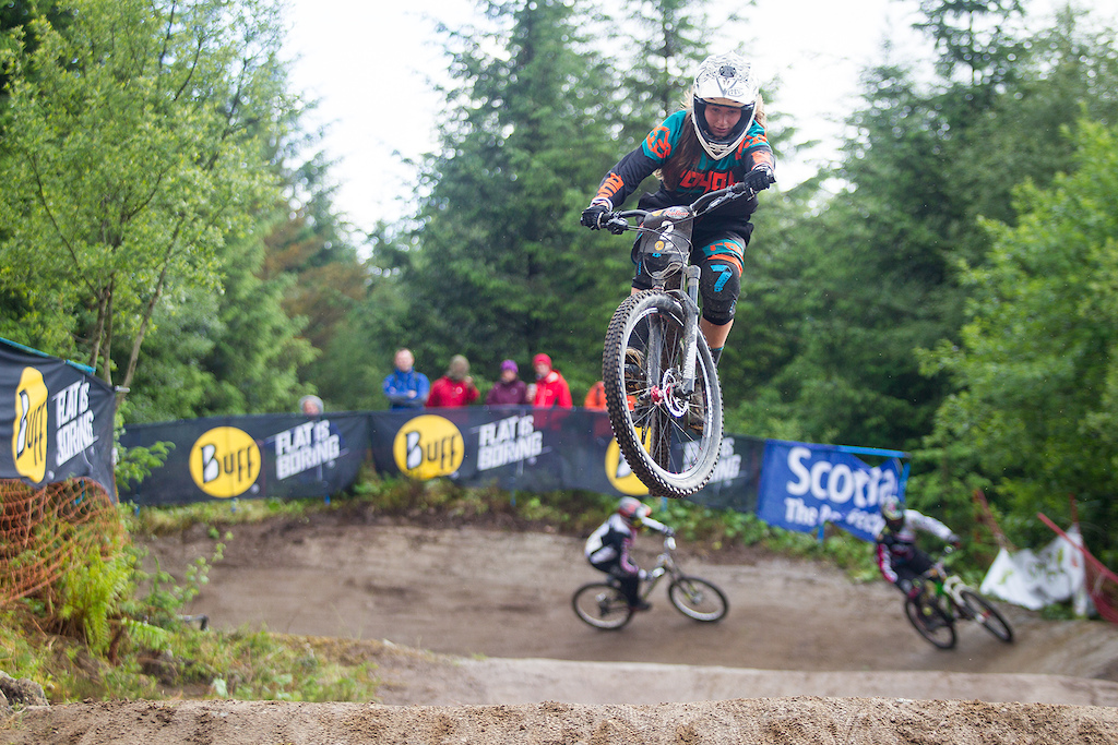 Open practice and racing during round 3 of The 2017 4X Pro Tour at Nevis Range, Fort William, Scotland, United Kingdom on June 03 2017. Photo: Charles A Robertson