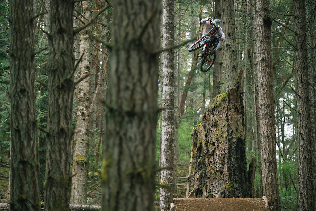 Jordie Lunn on his home turf of Vancouver Island BC for his Rough AF 2 edit.