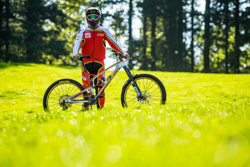 Barry Sheene Tribute bike