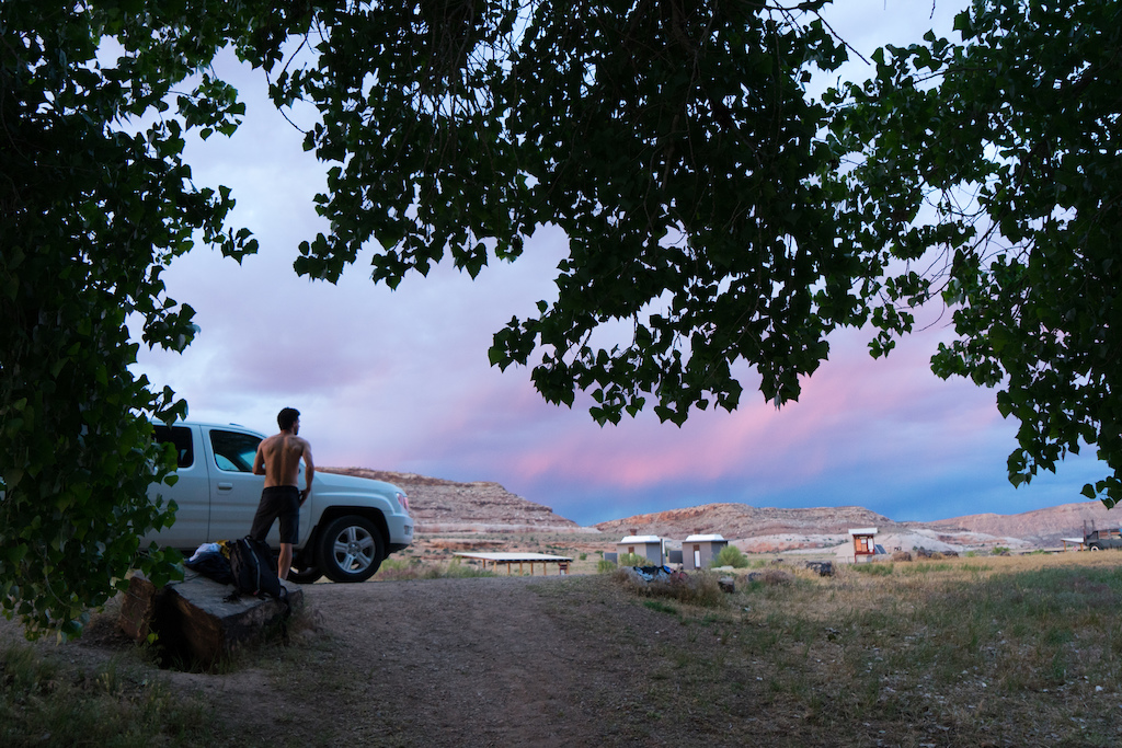 Photos by Patrick Means. Kona Adventure Team Project. Grand Junction CO to Moab UT along the Kokopelli Trail.