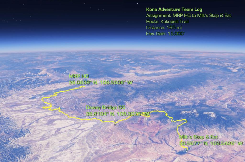 Prairie Dog Companion - Kokopelli Trail with the Kona Adventure Team