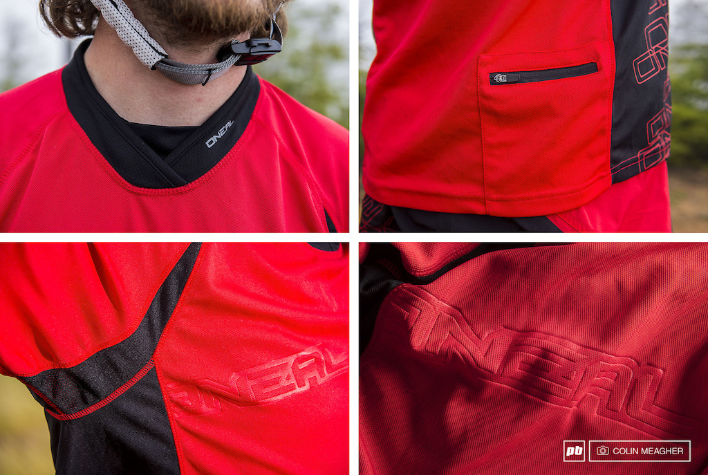 Details of the O Neal Pin It III MTB Jersey