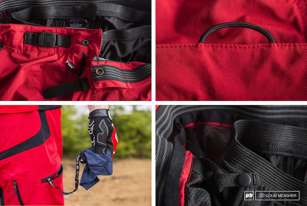 Details of the O Neal Pin It III MTB short