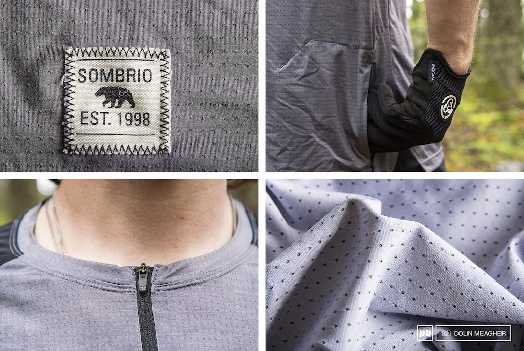 Sombrio Ridgeline Jersey details.