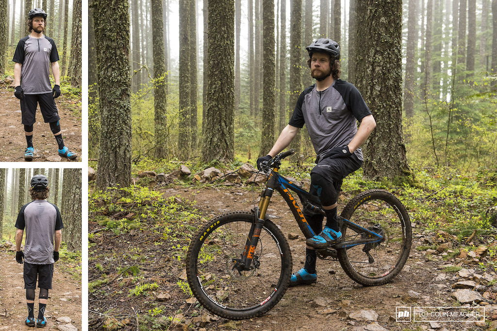 Static images of the Sombrio Highline short and Ridgeline Jersey.