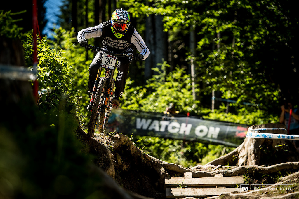 One fine day on the mountain for the Syndicate squad and 7th place for Luca, the worst performer of the team.