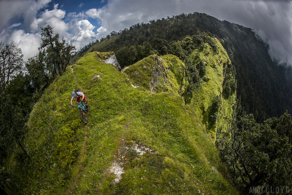 Munsiyari Mountain Bike Survey FOR INTERNAL USE BY UTTARAKHAND FOREST DEVELOPMENT CORPORATION ONLY. PIC Andy Lloyd www.andylloyd.photography