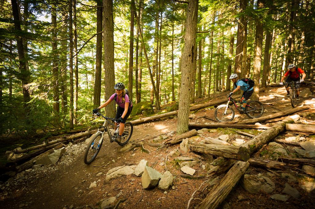 Mountain biking Whistler s Valley trails