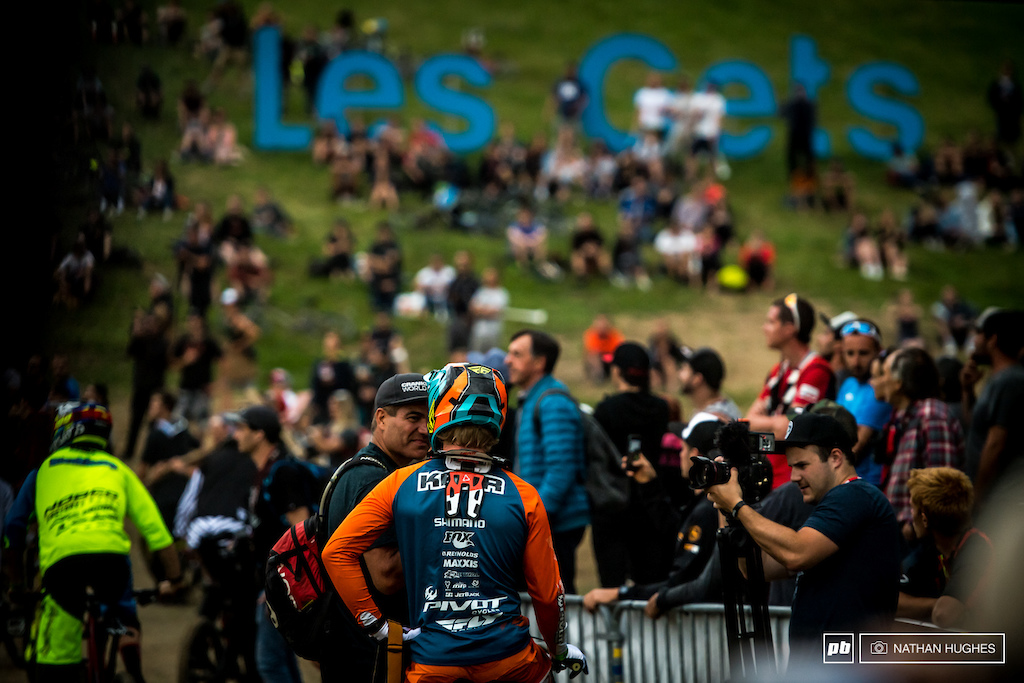 Tippie chats with an ex King of Crankworx.