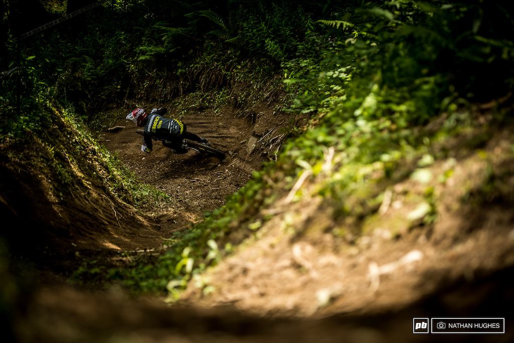 George Brannigan has found some old form and is riding characteristically wild once again.