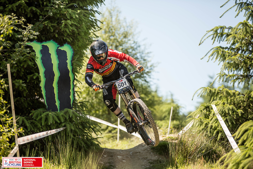 Sponsored by Monster Energy HSBC UK National Downhill Series Round 3 Presented by GT Bicycles