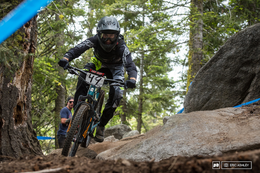 Kasper Dean has been keeping the pace and finished up at Tamarack with his second fourth-place finsih Pro Men .