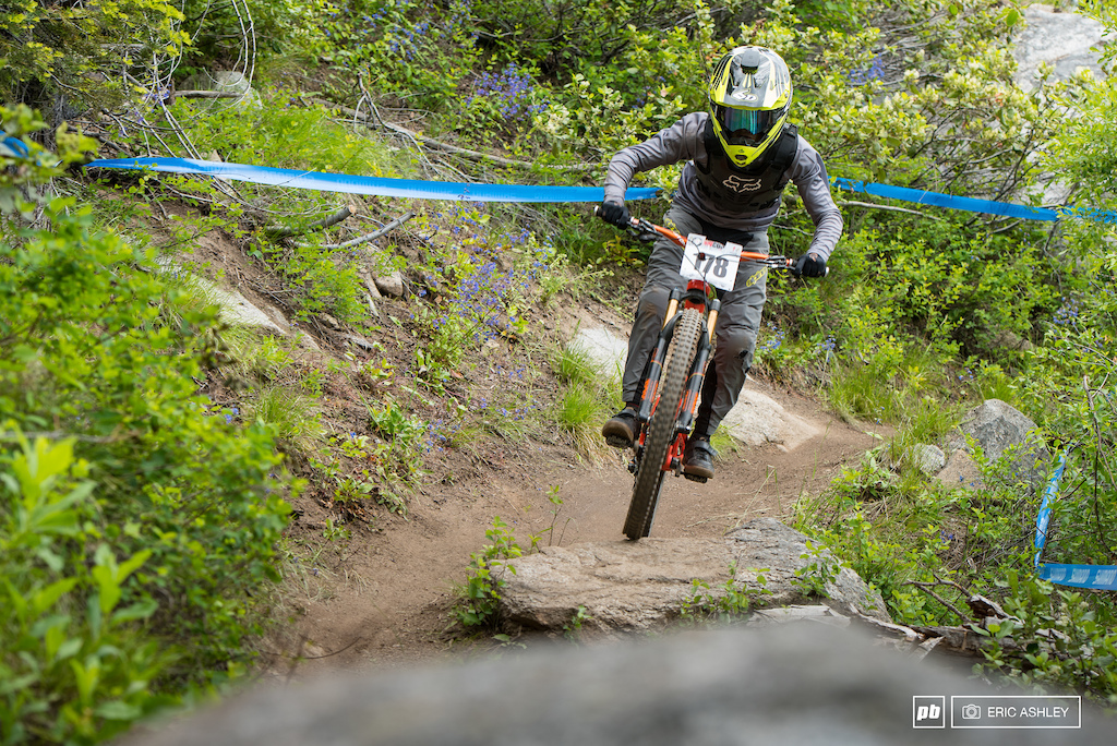 Declan Ervin joined the trail bike club to good effect and scored his first Juniors Podium.
