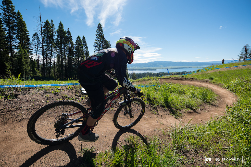 You re never very farm from an awesome view at Tamarack Bike Park.