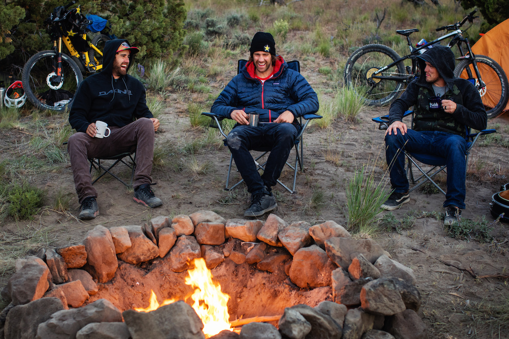 Cam McCaul Ryan Howard and Dusty Wygle in Central Oregon