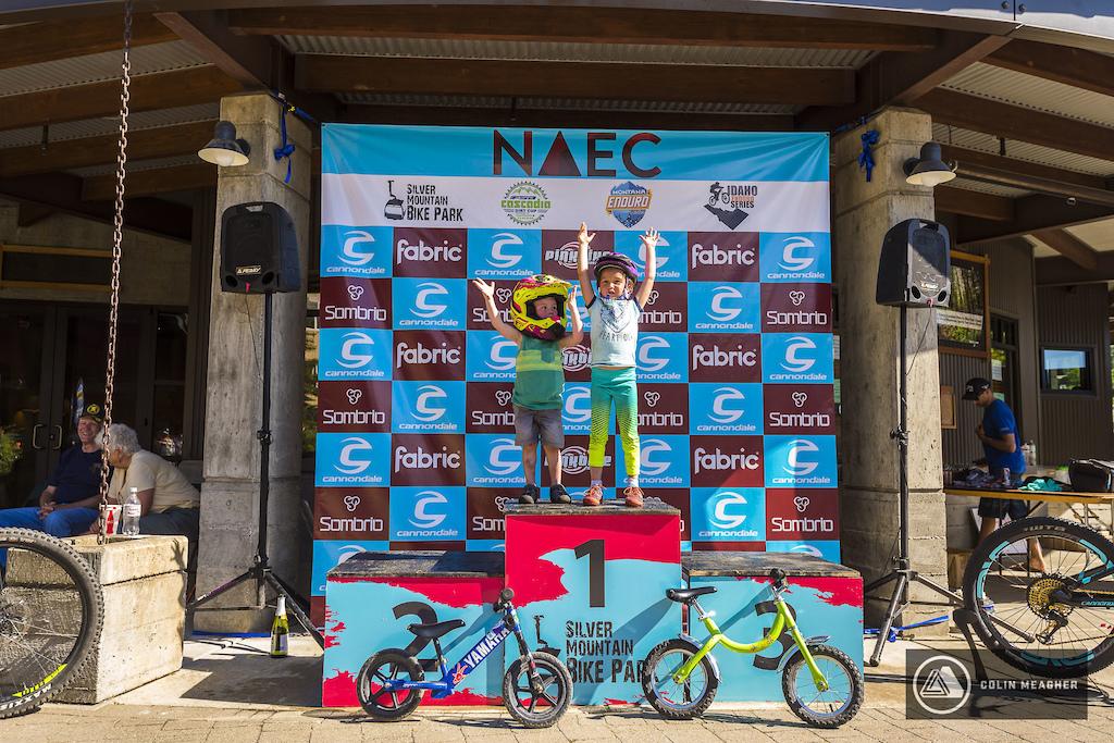 Strider bike podium
