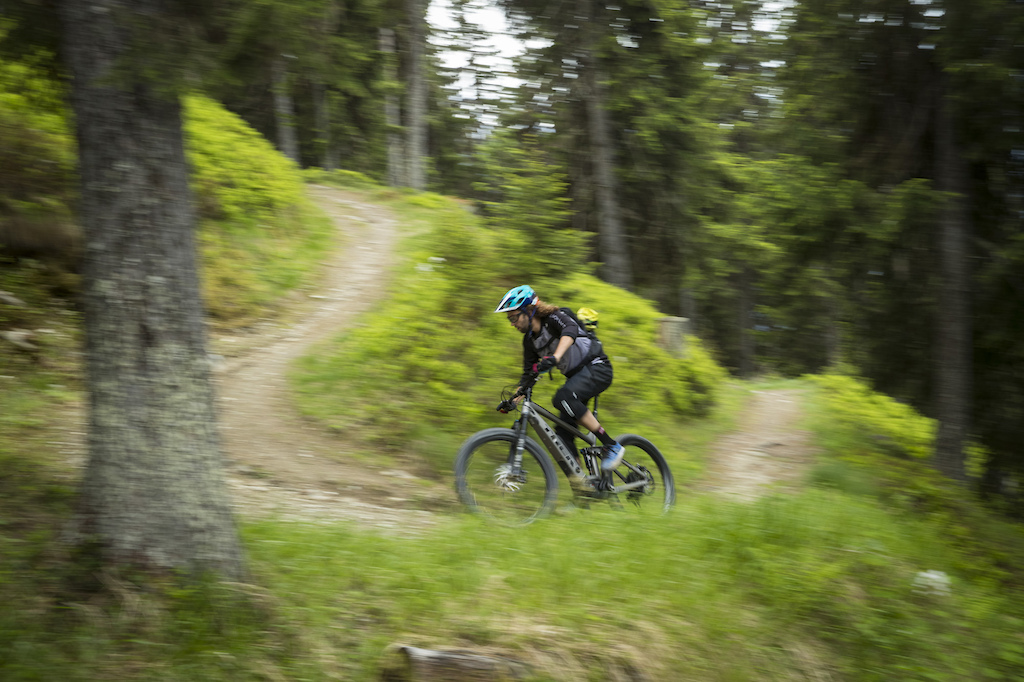 Trek Powerfly Launch in Verbier Switzerland