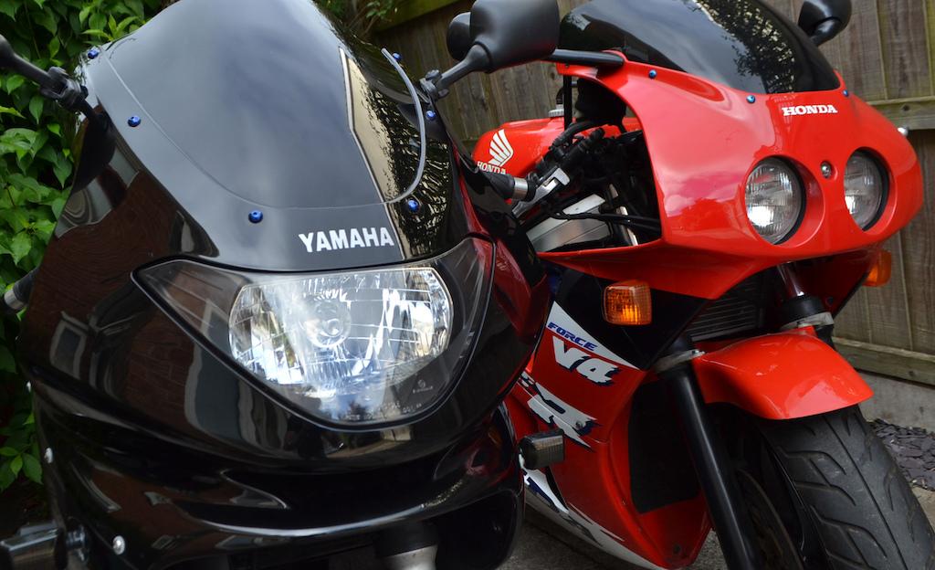 1997 Yamaha YZF600 T'cat 1993 Honda NC30 VFR