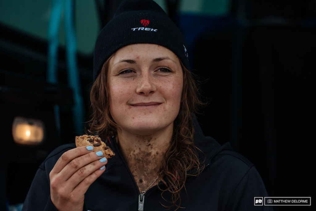 It's the little things. Like cookies after a brutal day out racing.