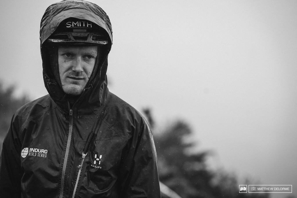 Jacob Gibbons was thrilled about the weather this morning.