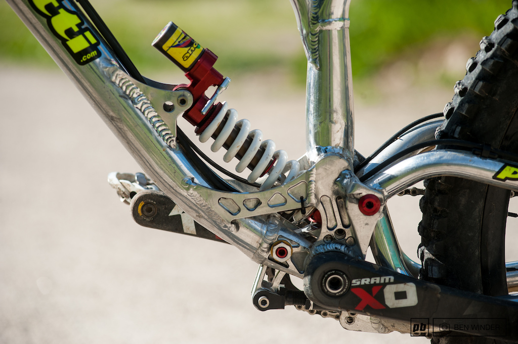 Andrea Gamenara - Ancillotti Scarab Bike Check