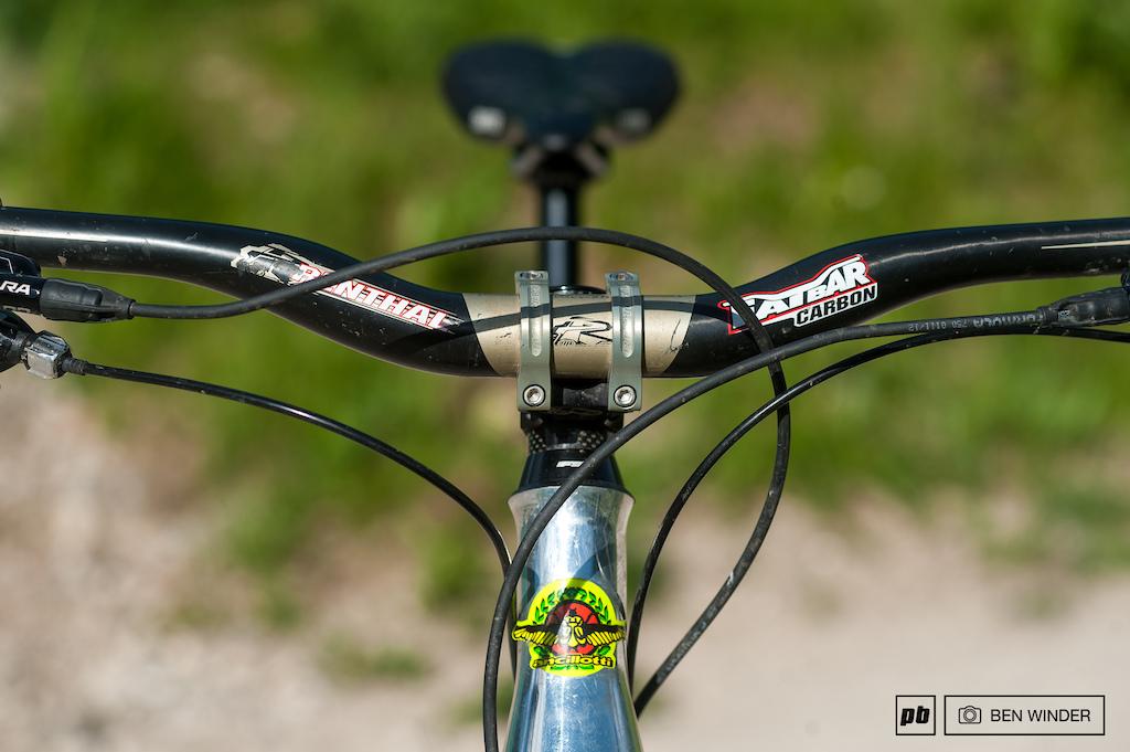 Andrea Gamenara - Ancillotti Scarab Bike Check