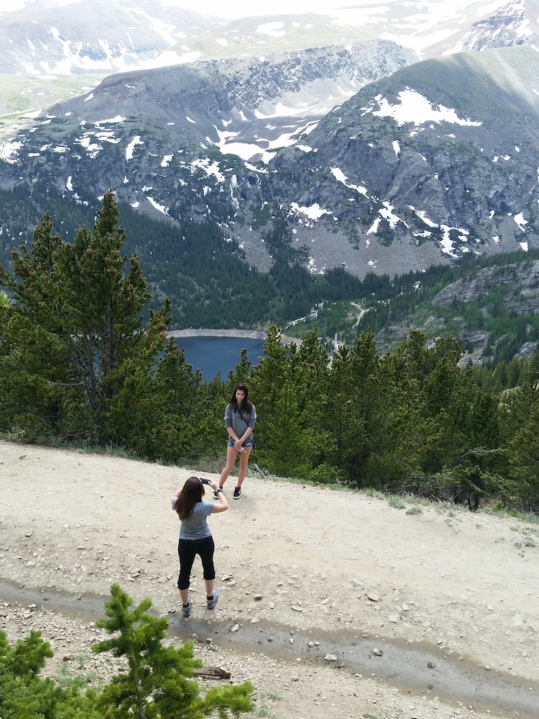 Did a short 3 mile hike up Hoosier Pass. Around 10,370 ft.
