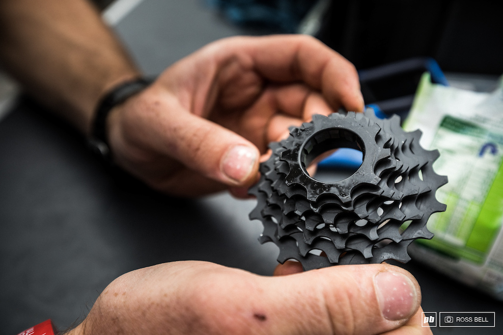 A fresh range on an e 13 cassette for the Polygon crew. A 10-20T compared to the old 9-21T for those interested...