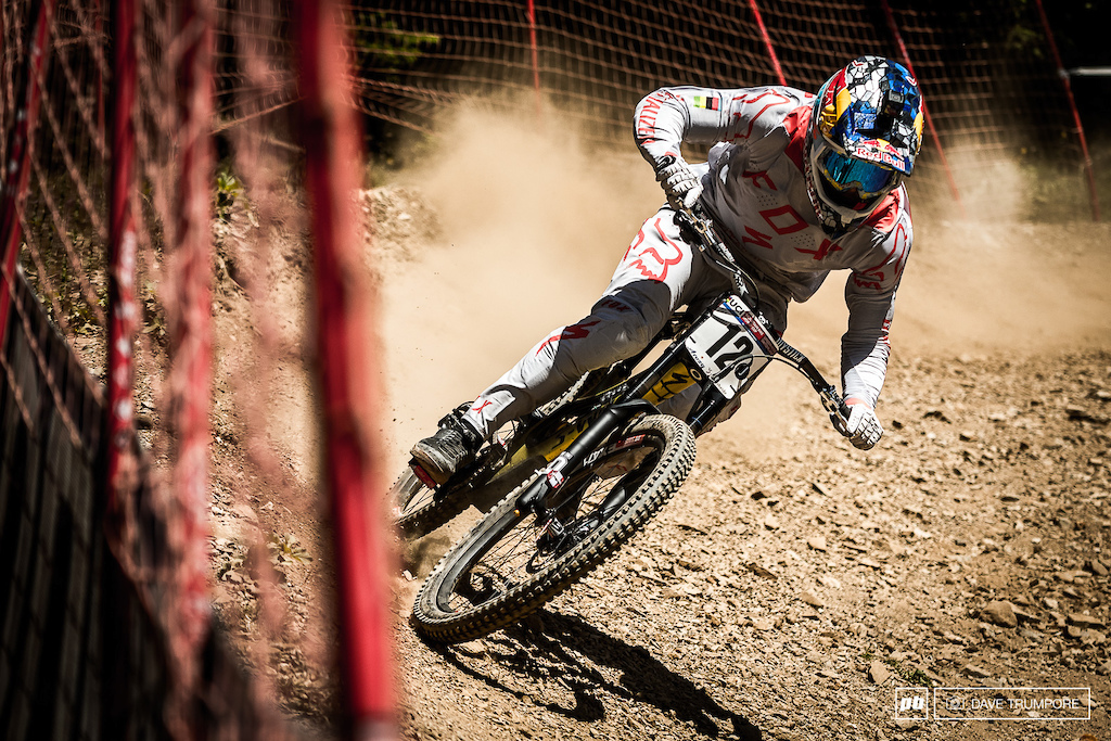 Full gas today from Loic Bruni.
