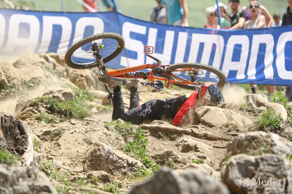 Qualifying day at Lenzerheide