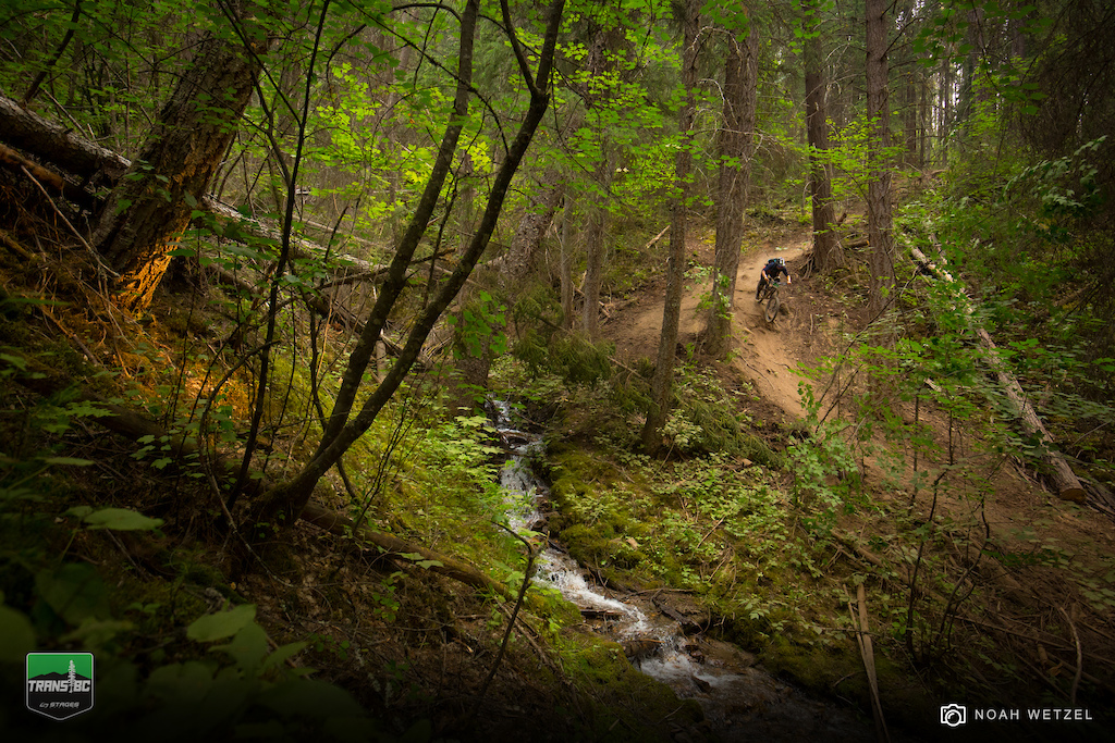 Stage 5 at Panorama Resort on Day 2 of the Trans B.C. Enduro.