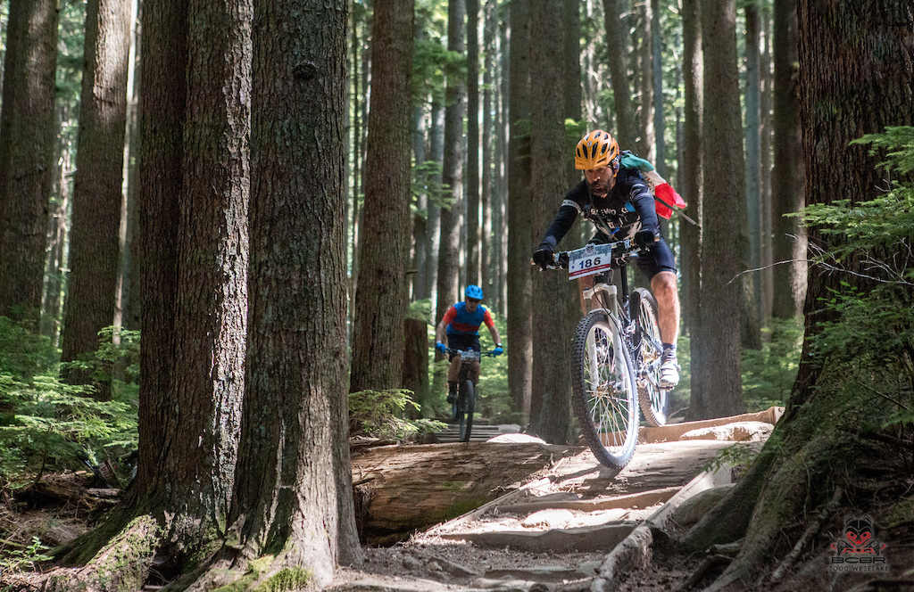 Mount Seymour has all the classic North Shore trail features, including wooden bits to keep you puckered.