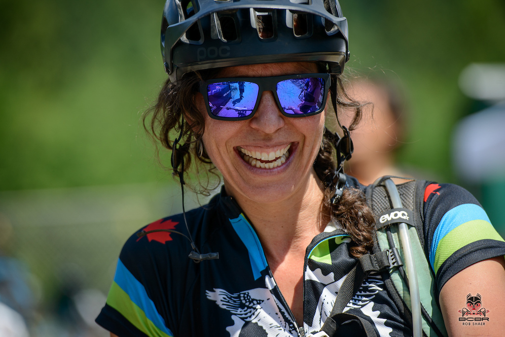 Deb MacKillop, the Kazlaw MTB Community Award Winner, spreading the stoke everywhere she goes.