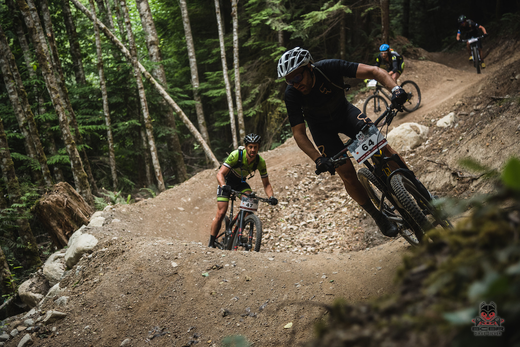 Half Nelson trail is a racer favorite with its waves of mounded dirt.