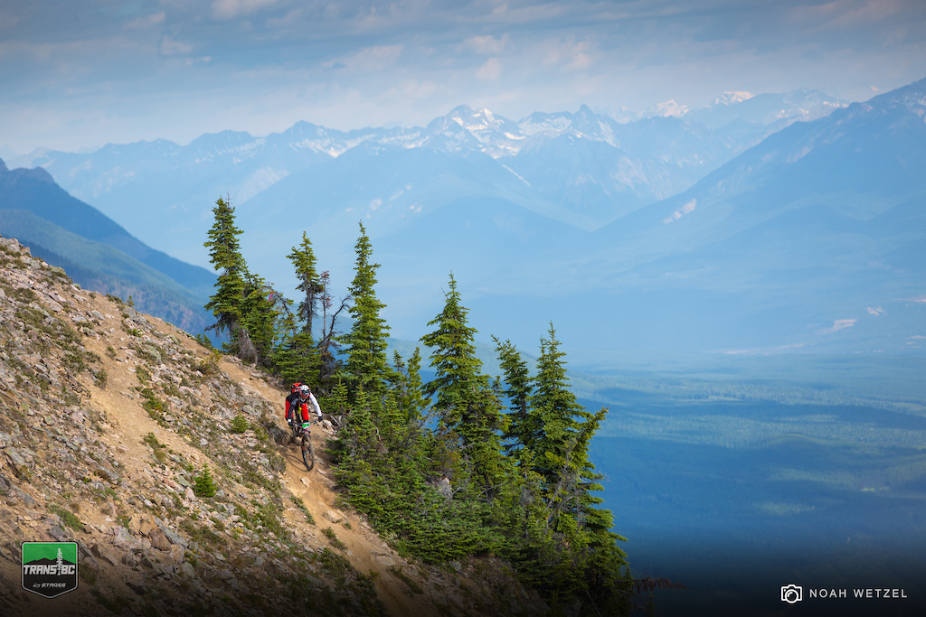 Day 4 of the Trans BC Enduro in Golden B.C.