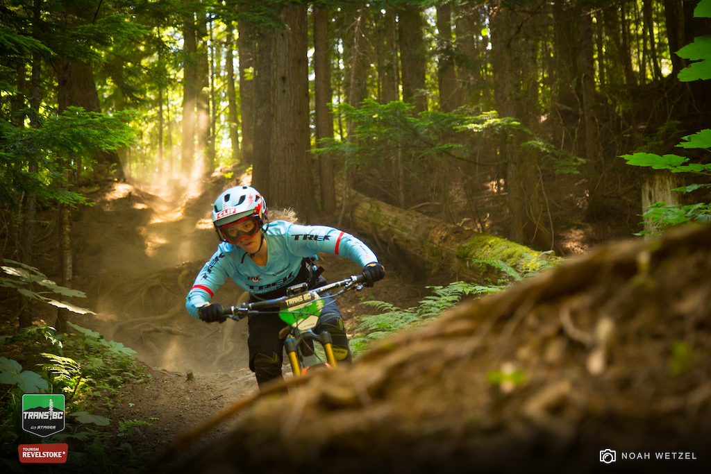 Stage 3 on Day 5 of the Trans BC Enduro in Revelstoke B.C.