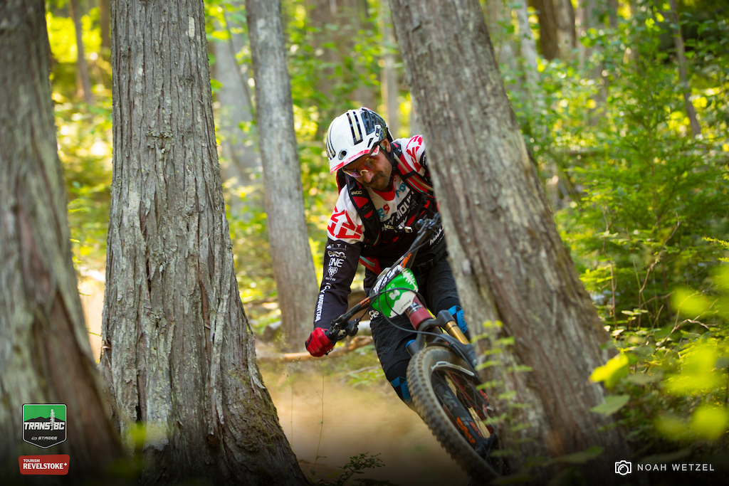 Stage 5 on Day 5 of the Trans BC Enduro in Revelstoke B.C.