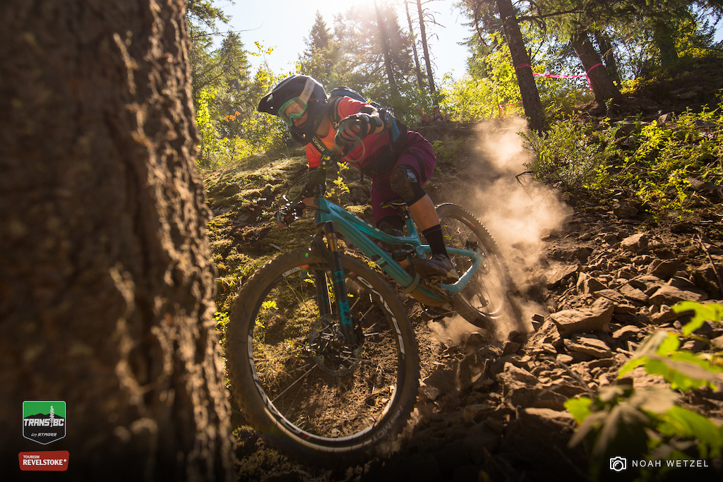 Stage 1 on Day 6 of the Trans BC Enduro in Revelstoke B.C.