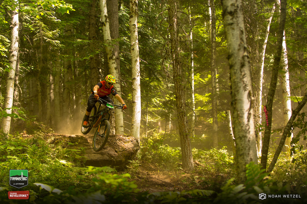 Stage 3 on Day 6 of the Trans BC Enduro in Revelstoke B.C.