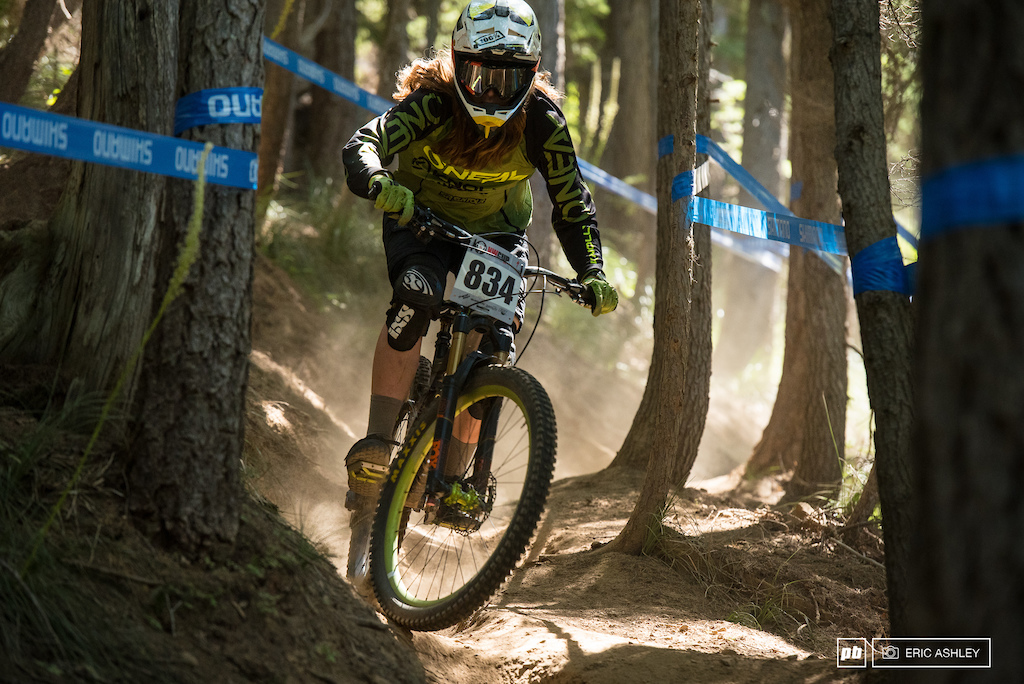 Alicia Leggett turned in a good result during her first NW Cup race and took home second Pro Women .