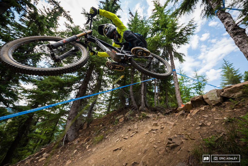 Trevor Lewis  was on the hunt for another podium finish and put in the third fastest seeding time on Saturday (Pro Men).