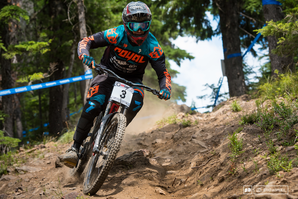 Matt Orlando's bad luck for seedign runs continued at Silver with a DNS on Saturday, but he pulled it together for a seventh place finish by the end of the week (Pro Men).