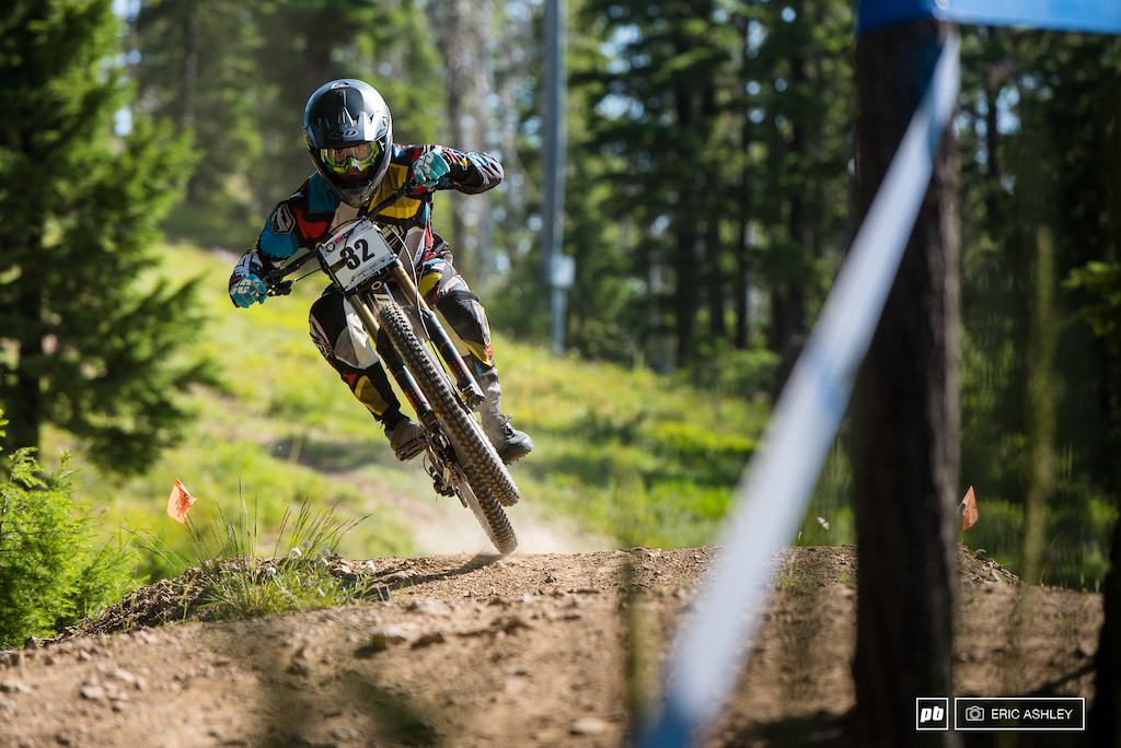 Carson Eiswald kept things smooth and fast through the weekend to take his second win of the season Pro Men .
