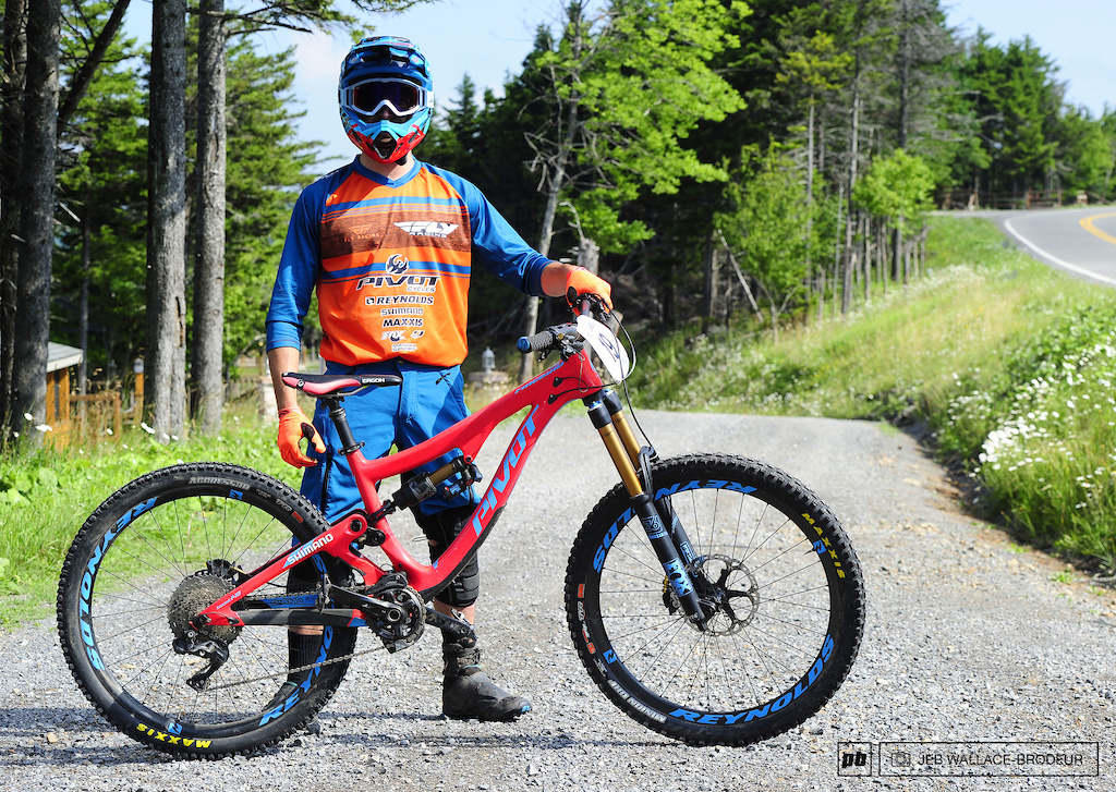 Adam Synder Westminster MA Pivot Reynolds Factory Enduro Team Shimano Fox Maxxis Pivot Firebird 27.5