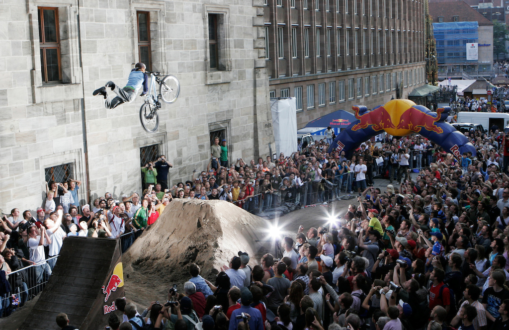 Geoff Gulevic at Red Bull District Ride 2005