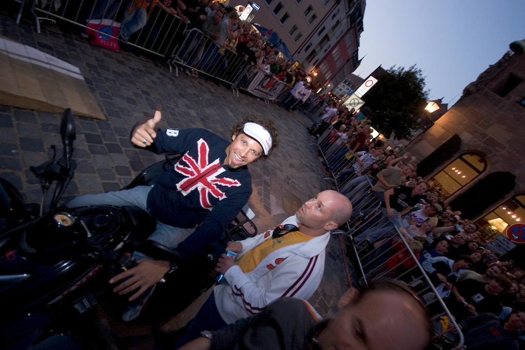 Tarek Rasouli at Red Bull District Ride 2005