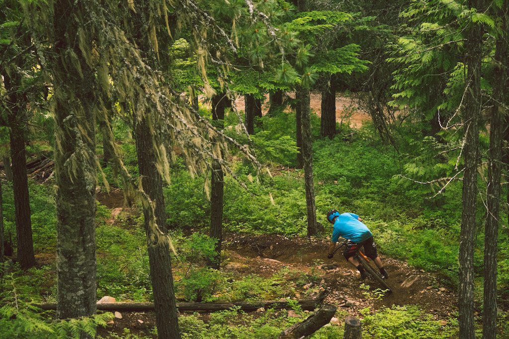 Jesse Melamed rides Whistler Steeps