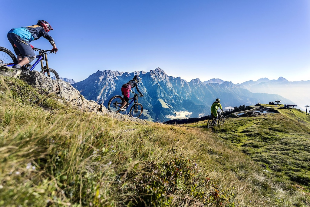 Mountain Bike Adventures in Saalfelden, Leogang