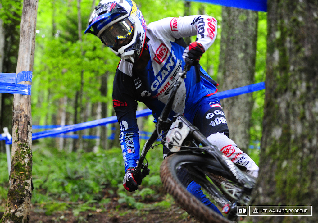 Giant Factory rider Eliot Jackson took care of business this week with a sixth-place result.